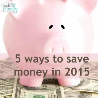 5 ways to save money in 2015