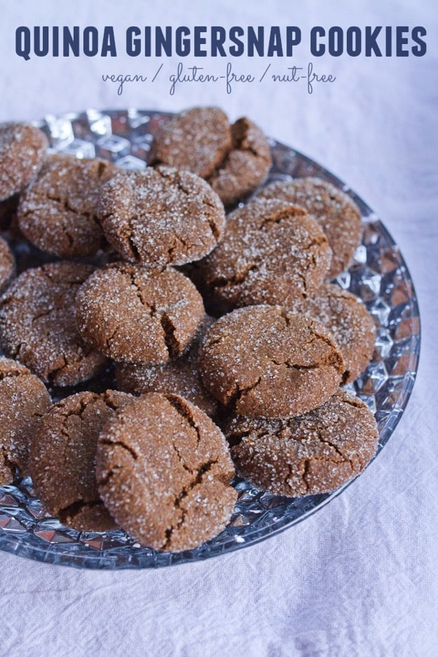 Quinoa-gingersnap-cookies-vegan-gluten-free