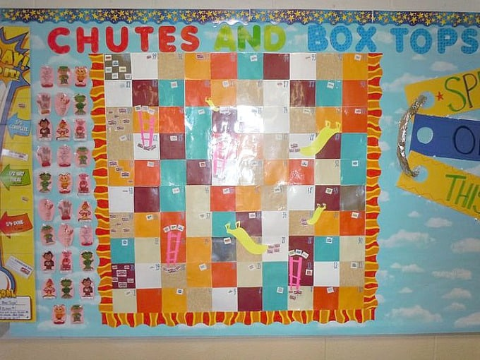 chutes & box tops