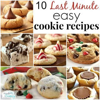 10 last-minute cookie recipes that are QUICK to make!