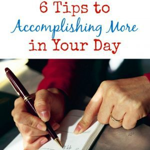 get more done in your day!