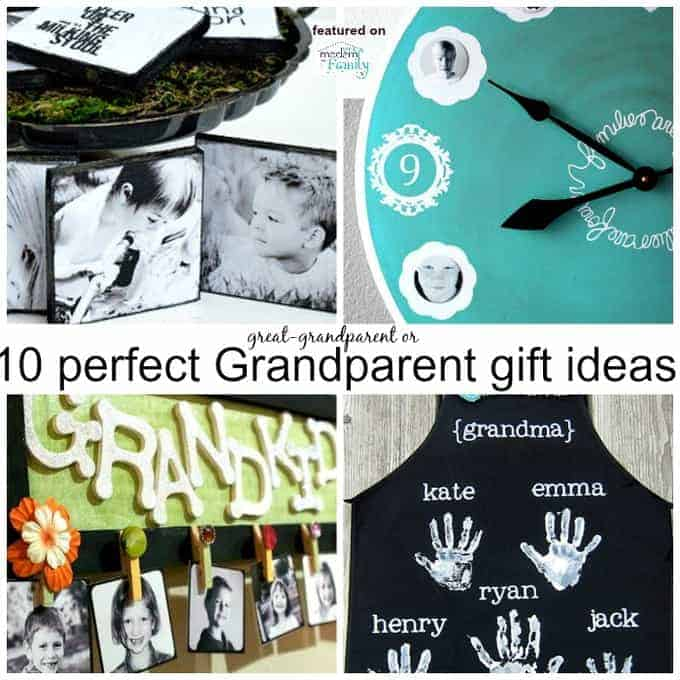 10 gifts for grandparents for Homemade gifts from toddlers to grandparents