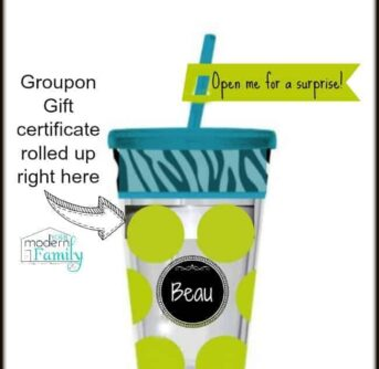 fun way to give a gift certificate