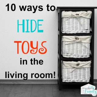 10 Toys Storage Ideas (hide your toys)