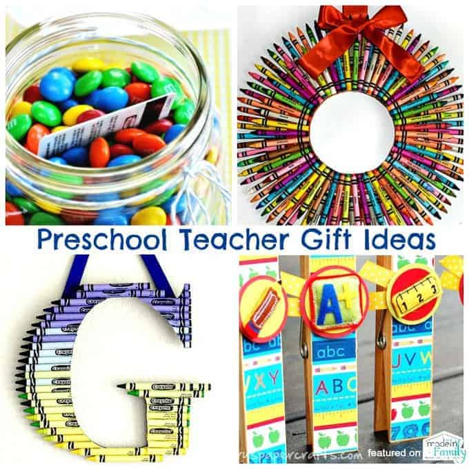 preschool teacher gift ideas