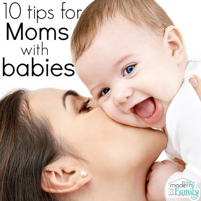 10 tips for moms with babies