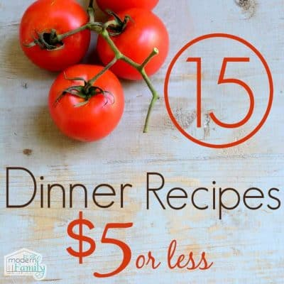 Dinners for $5