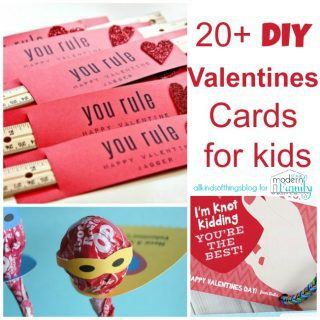 20 Valentine's Day Card Ideas for Kids