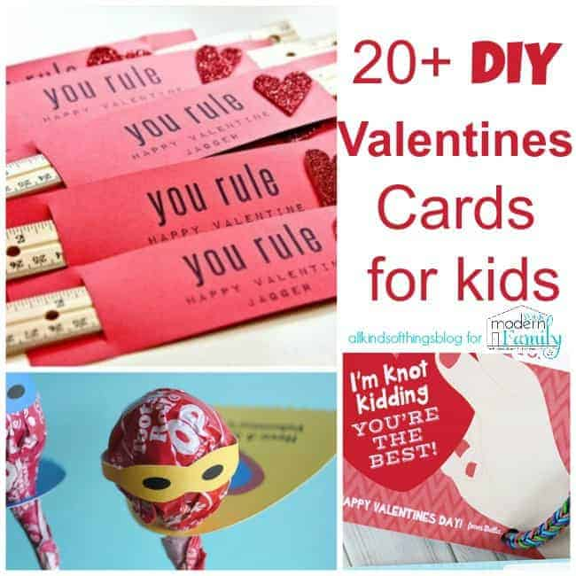 Valentine 39 s day card ideas for kids for Creative valentine day cards