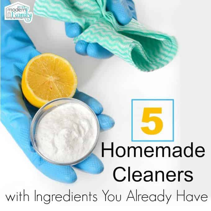 5 homemade cleaners with ingredients you already have