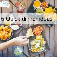 5 quick dinner ideas