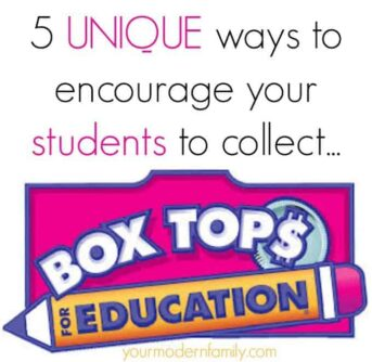5 ways to encourage students to collect box tops