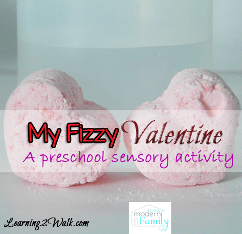 My Fizzy Valentine- preschool sensory activities with watermark