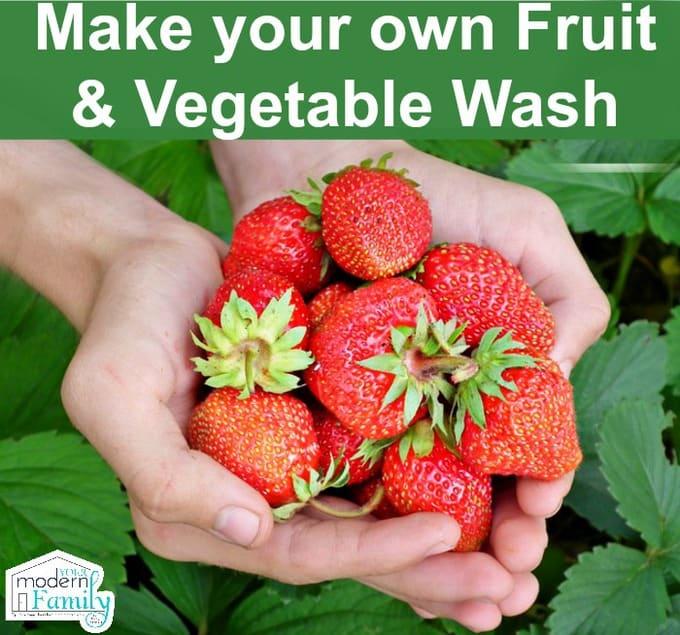 DIY fruit & vegetable wash