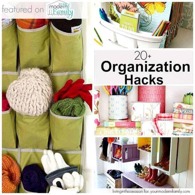 organization hacks - your modern family
