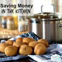 saving money in the kitchen