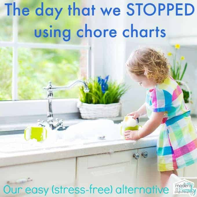 stopped using chore charts