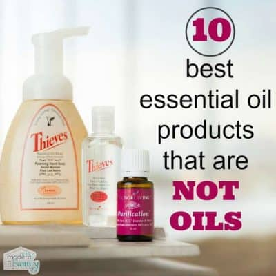10 essential oil products that are not oils