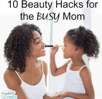 beauty hacks for busy mom
