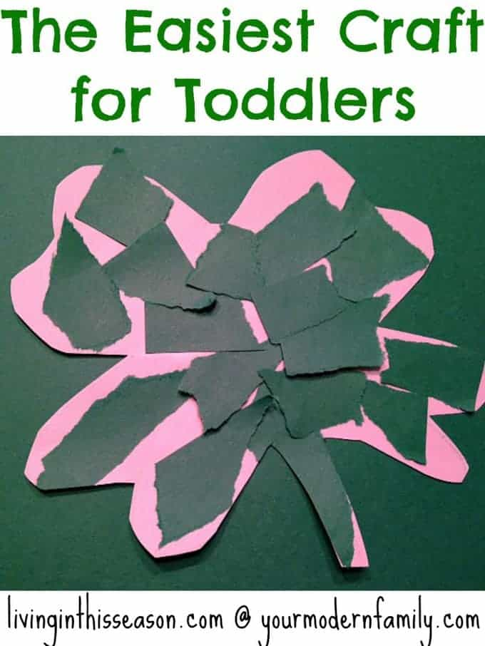 easiest craft for toddlers