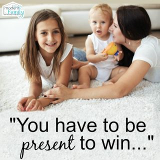 You have to be present to win