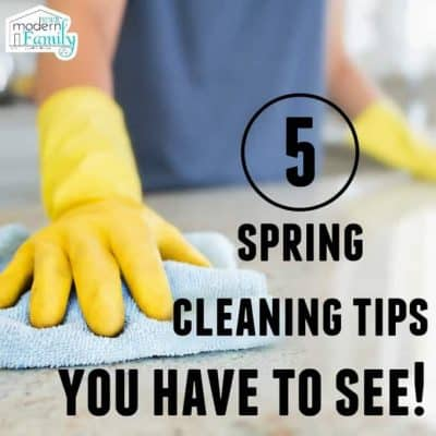 5 spring cleaning tips