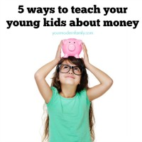 5 ways to teach your kids about money
