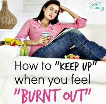 keeping up when you feel burnt out
