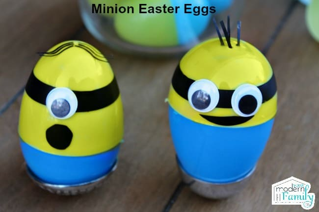 two minion easter eggs