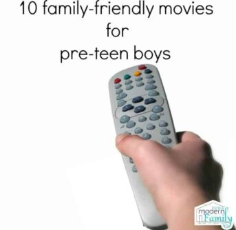 10 appropriate movies for pre-teen boys
