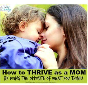 thrive as a mom