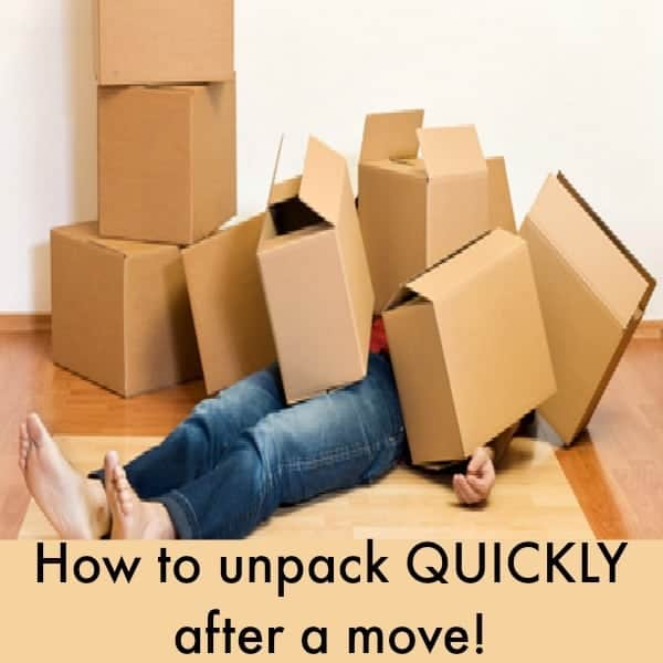 How to unpack quickly after moving When is the best time to move house