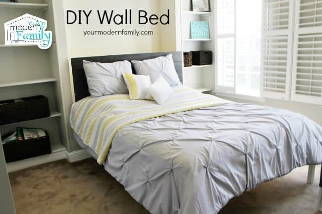 how to build a wall bed video