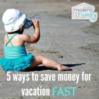 5 ways to save money for vacation