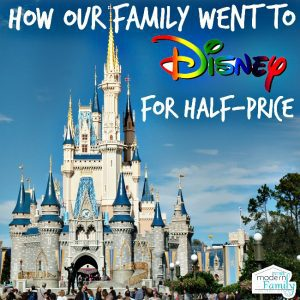 how to go to Disney at half price