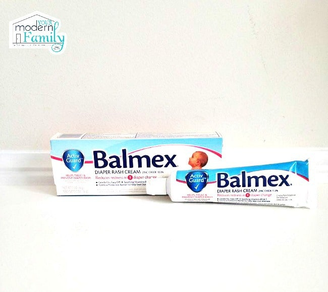 Two tubes of Balmex diaper cream.