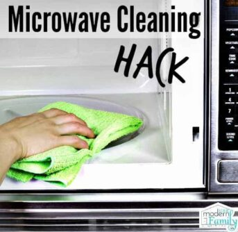 microwave cleaning hack