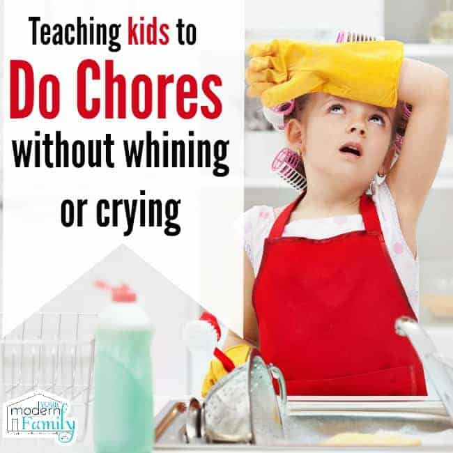 no whining or crying