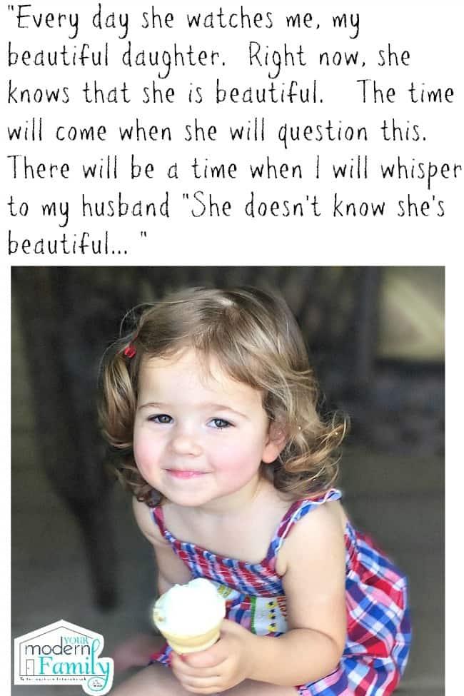 How I will teach my daughter her true beauty - yourmodernfamily.com