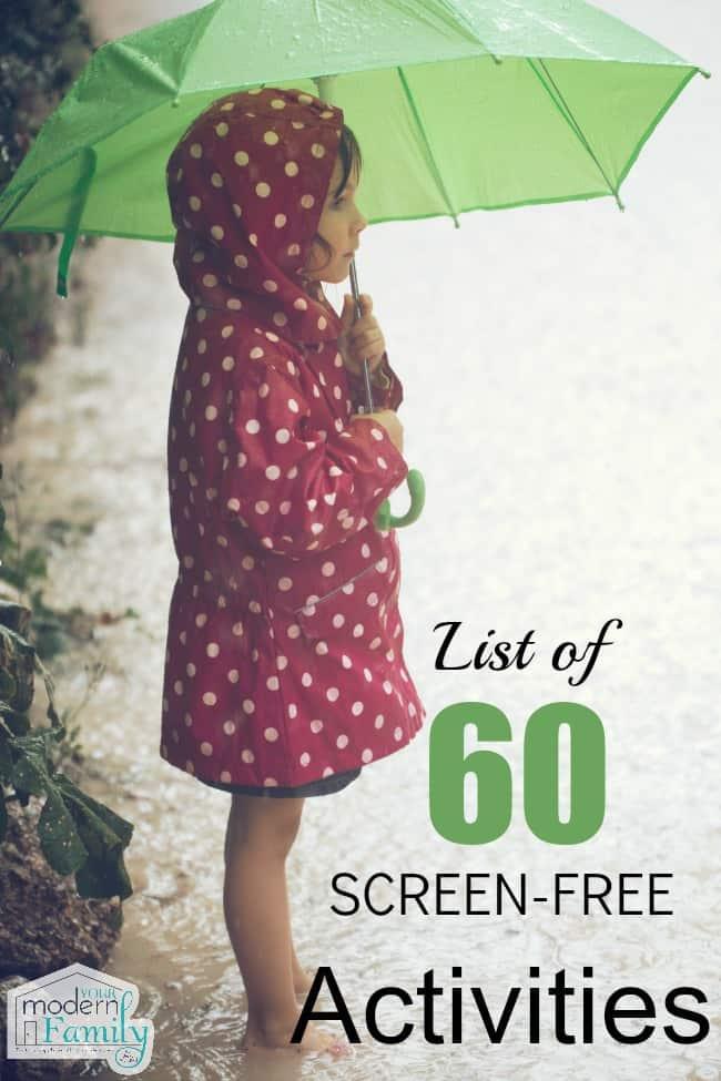 60 screen free activities