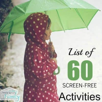 60 screen free activities