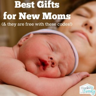 Free gifts for a new mom