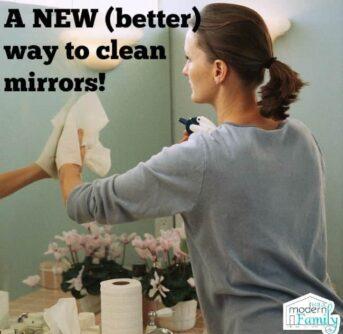 clean mirrors