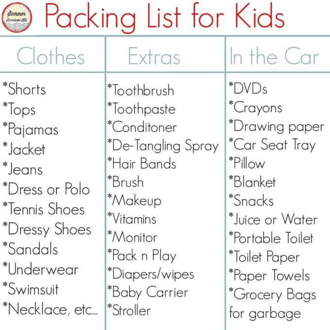 packing_list_for_kids
