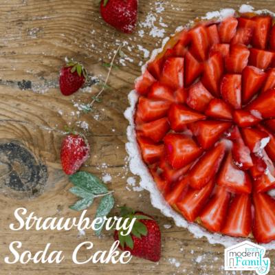 strawberry soda cake