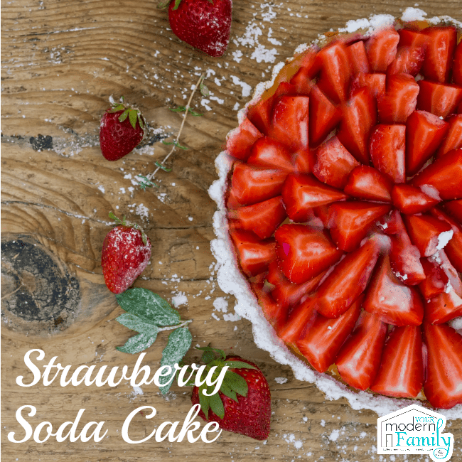 strawberry soda cake