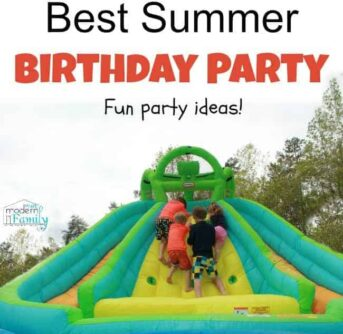 summer birthday ideas