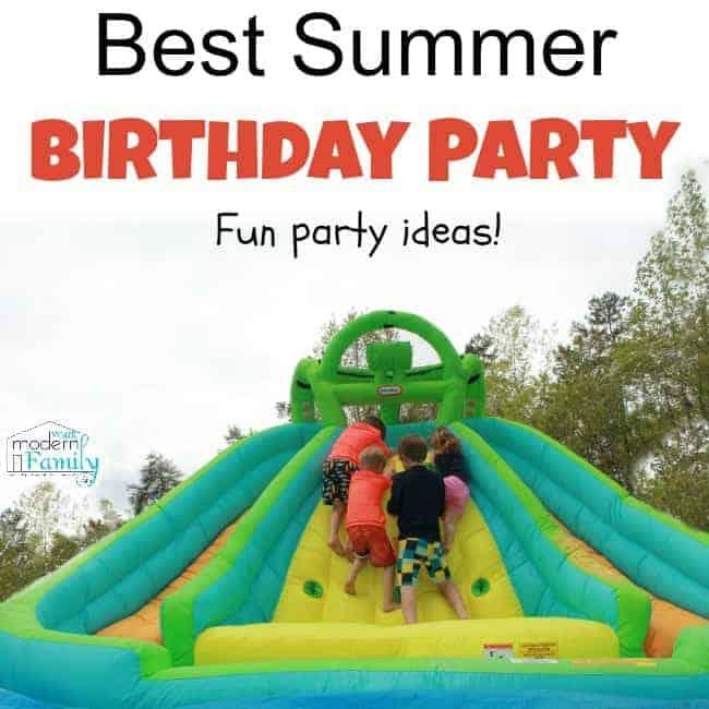 summer birthday ideas