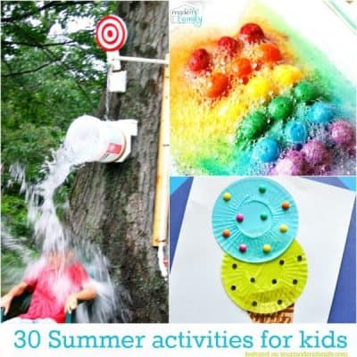 30 activities for young children