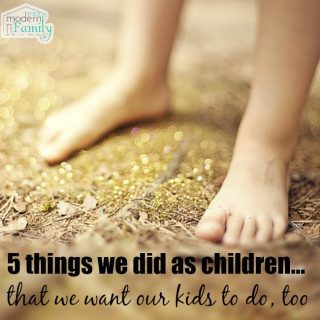5 things I remember as a kid
